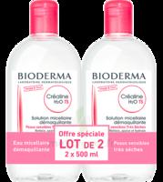 CREALINE TS H2O Solution micellaire sans parfum nettoyante apaisante 2Fl/500ml à SEYNOD
