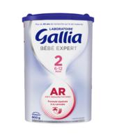 GALLIA BEBE EXPERT AR 2 Lait en poudre B/800g à SEYNOD