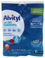 Alvityl Sucette Mal Des Transports Cola Fraise Sachet/10 à SEYNOD