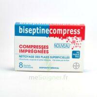 Biseptinecompress Compressses Impregnees, Bt 8 à SEYNOD