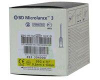 Bd Microlance 3, G30 1/2, 0,30 Mm X 13 Mm, Jaune  à SEYNOD