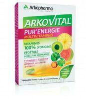 Arkovital Pur'Energie Multivitamines Comprimés dès 6 ans B/30 à SEYNOD