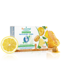Puressentiel Respiratoire Pastilles Respiratoire Gorge Miel-Citron - 18 pastilles à SEYNOD