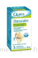 QUIES DOCUCALM ANTIDEMANGEAISONS DU CONDUIT AUDITIF, spray 20 ml à SEYNOD