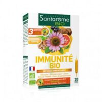 Santarome Bio Immunité Solution buvable 20 Ampoules/10ml à SEYNOD