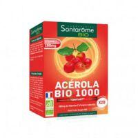 Santarome Bio Acérola 1000 Comprimés à croquer 2T/10 à SEYNOD