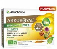 Arkoroyal Immunité Fort Solution buvable 20 Ampoules/10ml à SEYNOD