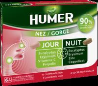 Humer Nez/gorge Jour&nuit 15 Comprimés à SEYNOD