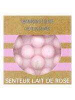 Valdispharm Shampooing solide Lait de rose cheveux abîmés B/55g à SEYNOD