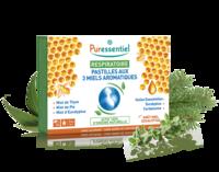 Puressentiel Respiratoire Pastilles Respiratoire aux 3 miels aromatiques - 18 pastilles à SEYNOD