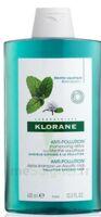 Klorane Menthe Aquatique Shampooing Détox 400ml