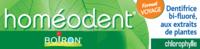 Boiron Homéodent Soin Complet Dents Et Gencives Pâte Dentifrice Chlorophylle Format Voyage T/25ml à SEYNOD