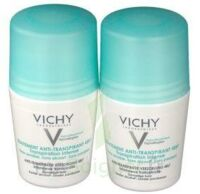VICHY TRAITEMENT ANTITRANSPIRANT BILLE 48H, fl 50 ml, lot 2 à SEYNOD