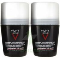 VICHY ANTI-TRANSPIRANT HOMME Bille anti-trace 48h LOT à SEYNOD