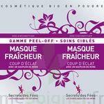 Secrets Des Fées Masque Fraicheur Coup D'eclat Peel-off à SEYNOD
