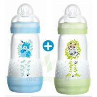Mam Biberon Easy Start Anti-colique 260 Ml Lot De 2_ Bleu & Vert à SEYNOD