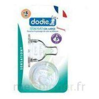 DODIE SENSATION+ Tétine plate débit 2 silicone 0-6mois à SEYNOD