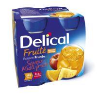 DELICAL BOISSON FRUITEE Nutriment multi fruits 4Bouteilles/200ml à SEYNOD