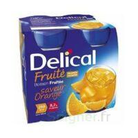 DELICAL BOISSON FRUITEE Nutriment orange 4Bouteilles/200ml à SEYNOD