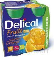 DELICAL BOISSON FRUITEE Nutriment édulcoré orange 4Bouteilles/200ml à SEYNOD