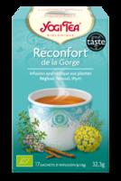 Yogi Tea Tisane Ayurvédique Réconfort De La Gorge Bio 17 Sachets/1,8g à SEYNOD