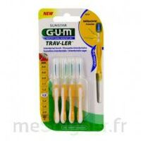 Gum Trav - Ler, 1,3 Mm, Manche Jaune , Blister 4 à SEYNOD