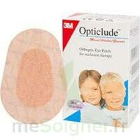 Opticlude Pansement Orthoptique Chair Maxi 5,7x8cm B/20 à SEYNOD
