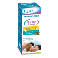 Quies Bi-Pack 2 Sprays buccal et nasale anti-ronflement à SEYNOD
