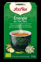 Yogi Tea Thé énergie du thé vert bio 17 Sachets à SEYNOD