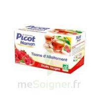 Picot Maman Tisane d'allaitement Fruits rouges 20 Sachets à SEYNOD