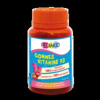 Pédiakid Gomme ourson Vitamine D3 fraise B/60 à SEYNOD