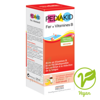 Pédiakid Fer + Vitamines B Sirop banane 125ml à SEYNOD
