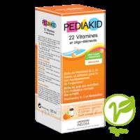 Pédiakid 22 Vitamines et Oligo-Eléments Sirop abricot orange 125ml à SEYNOD