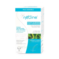 Netline Crème Visage/corps Décolorante Peau Sensible 30+30ml à SEYNOD