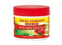 Superdiet Acérola 1000 Bio Comprimés à croquer Pot/60 à SEYNOD