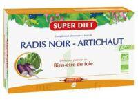 Superdiet Radis Noir Artichaut Bio Solution Buvable 20 Ampoules/15ml à SEYNOD