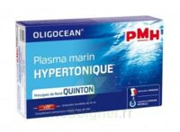 PMH Plasma Marin Hypertonique Solution buvable revitalisant 20 Ampoules/15ml à SEYNOD