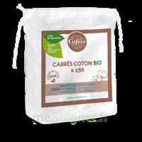 Gifrer Carré coton bio Sachet/150 à SEYNOD