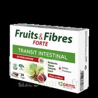 Ortis Fruits & Fibres Forte Cube à mâcher B/12 à SEYNOD