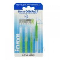 Inava Mono Compact Brossette Extra-large Vert Blister/4 à SEYNOD