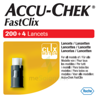 Accu-chek Fastclix Lancettes B/204 à SEYNOD