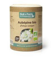 Nat&Form Eco Responsable Aubépine Bio Gélules B/200 à SEYNOD