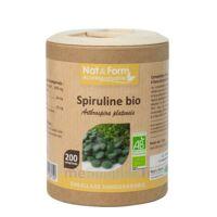 Nat&Form Eco Responsable Spiruline Bio Comprimés B/200 à SEYNOD