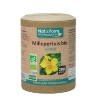 Nat&Form Eco Responsable Millepertuis Bio Gélules B/200 à SEYNOD