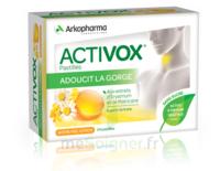 Activox Sans Sucre Pastilles Miel Citron B/24 à SEYNOD
