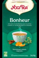 Yogi Tea Tisane Ayurvédique Bonheur Bio 17 Sachets/1,8g à SEYNOD