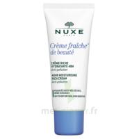 Crème Fraiche® De Beauté - Crème Riche Hydratante 48h Et Anti-pollution30ml à SEYNOD