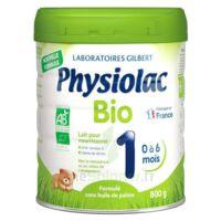 Physiolac Bio 1 Lait En Poudre B/800g à SEYNOD